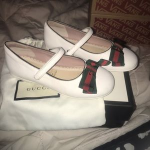 Toddler Gucci Shoes Worn Twice  Looks Brand New